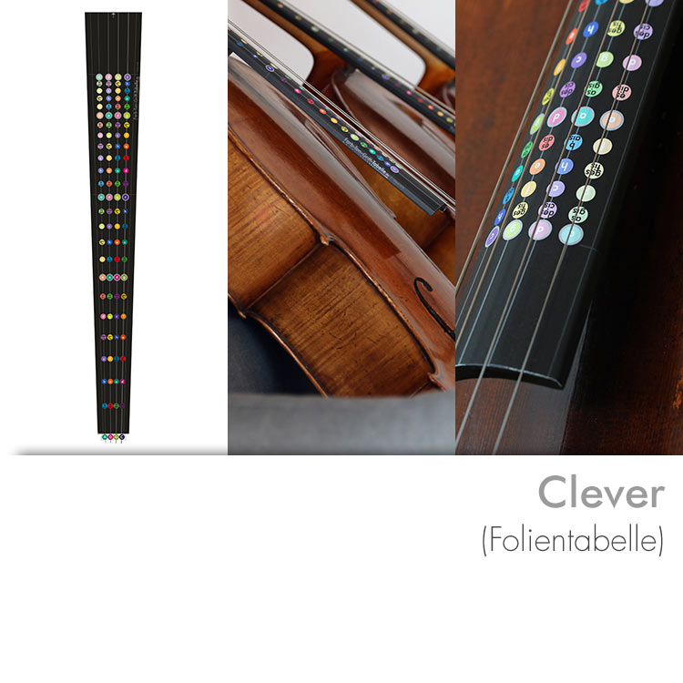 Farbton-Grifftabelle Modell Clever (Folie)